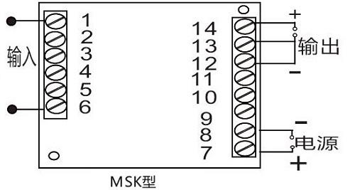供求商机 >5000v直流大电压隔离转换器  ●输入过载能力:最大输入电压