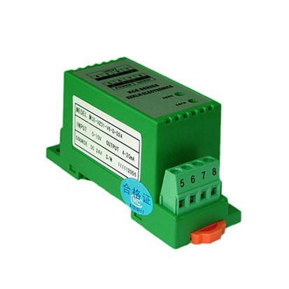 MCE-IZ01-MK1直流電流隔離器(220V供電/端子)
