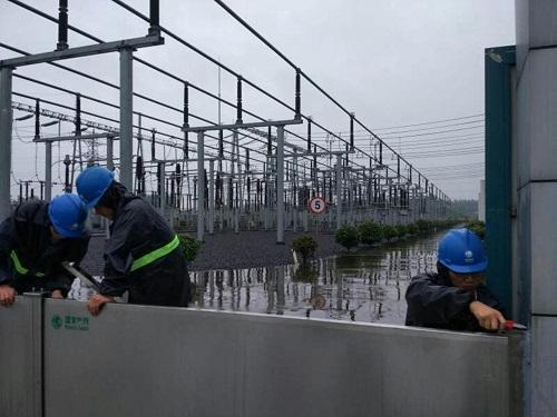 变电站/配电房电力电网溢水报警系统4G DTU短信数据透传